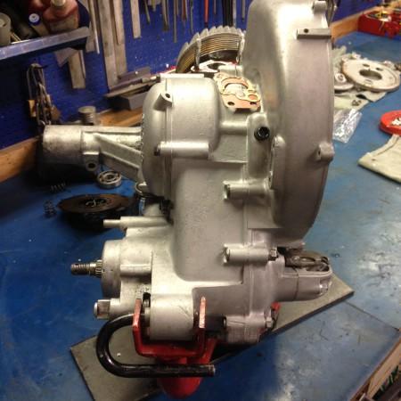 Afbeeldingsresultaten voor vespa gs160 mk1 motor